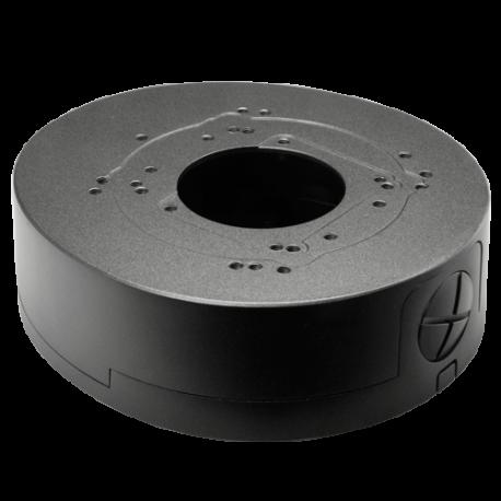 Caja de conexiones para cámaras domo. Color Negro