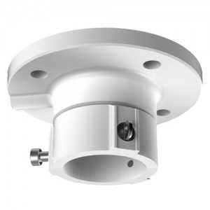 Soporte de techo para domos motorizadas - Aleación de aluminio - 57 mm (Al) x 116,5 mm (diámetro base) - 380 g