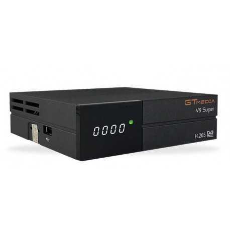 Receptor SAT (S2), FULL HD, H.265, Wifi integrado, IR