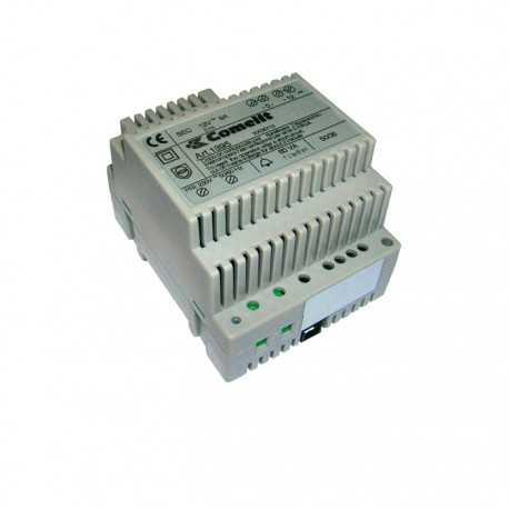 Alimentador doble salida 12VAC-20VCC y entrada 230VAC.