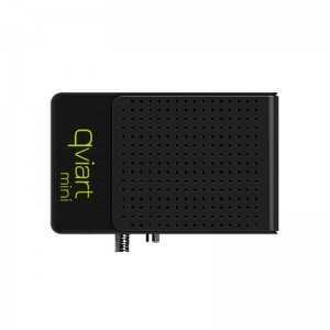 Receptor SAT (S2), FULL HD, H.264, 1 Lector tarjetas, Wifi USB integrado, IR.