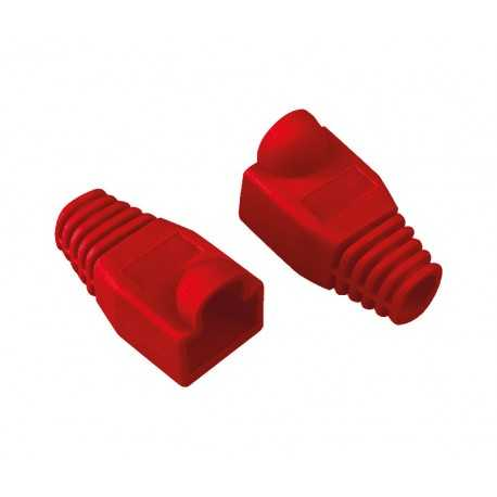 Protector color rojo RJ45