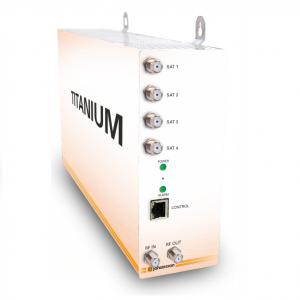 Cabecera transmoduladora compacta con 4 entradas QPSK/DVB-S2 a 4 salidas COFDM y 2CI