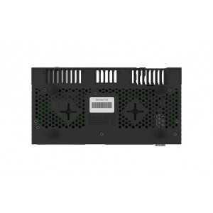 Routerboard de 4 Cores a 1.4GHz y 1Gb RAM, x10 puertos Gb, x1 SFP+ y x1 USB. Level 5, para RACK