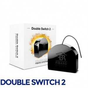 Producto Reacondicionado: Fibaro Double Switch 2 - Relé dual ON/OFF 2x1.5kWSECURE SRT323