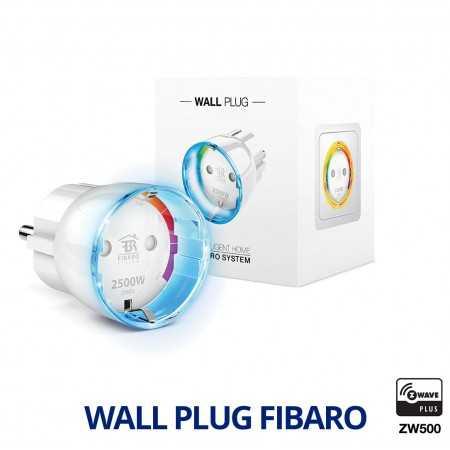 Enchufe de pequeño tamaño para control ON/OFF con aro Led y control de consumo