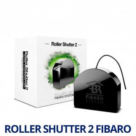 Producto reacondicionado: Fibaro Roller Shutter 2 - Controlador de persianas/puertas de garaje. FGRM-222