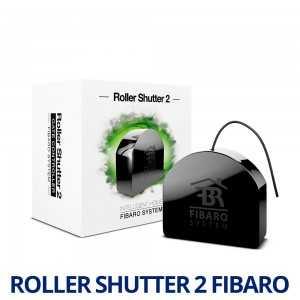Fibaro Roller Shutter 2 - Controlador de persianas/puertas de garaje. FGRM-222