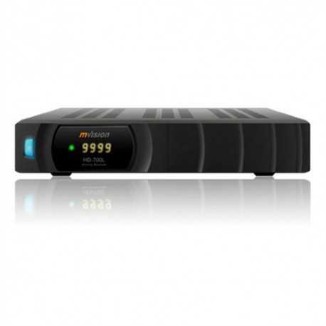Producto reacondicionado: Receptor satélite HD 1080p, entrada ethernet, wifi USB compatible, IKS
