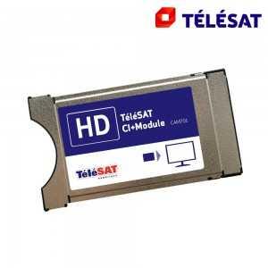 Tarjeta TELESAT integrada en Modulo Viacces CI+