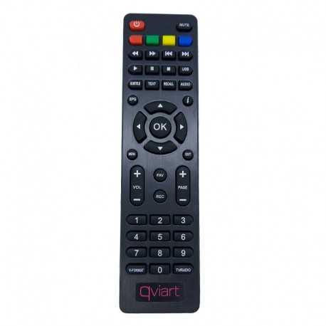 Mando a distancia compatible con el receptor Qviart mando T2