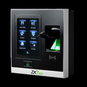 Control de Presencia Portátil Huellas, Tarjeta EM RFID y teclado TCP/IP y USB. Apto exterior