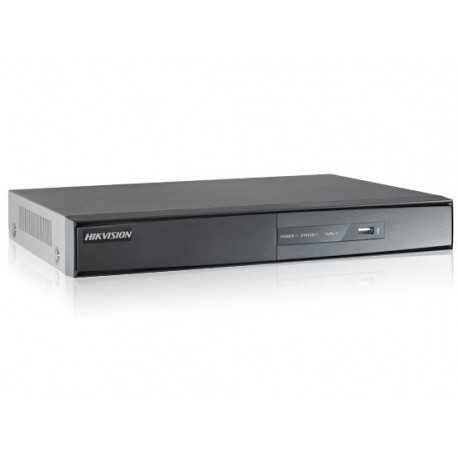 Grabador 8 canales, H264, 720p. HIKVISION
