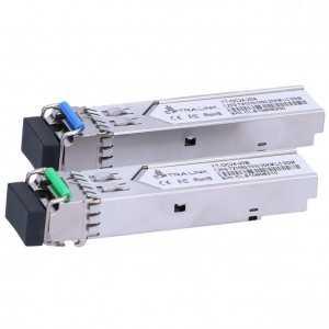 Pack de módulos SFP (1.25G SM 20km T1310nm/R1550nm) + (1.25G SM 20kmT1550nm/R1310nm) Extralink