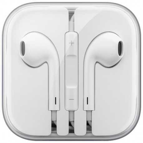 Auriculares Original APPLE EarPods de 110cms, con botones manos libres. 43699 Cabstone