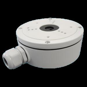 Caja conex. Hikvision. 137mm diámetro