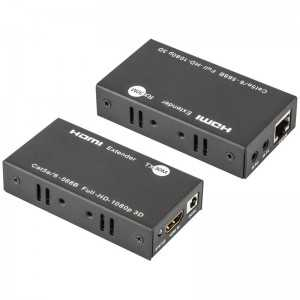 Amplificador / Convertidor de HDMI a Cable de datos (hasta 30mts Cat6)
