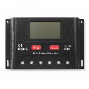 Regulador de carga 12V,24V auto. PWM 30A