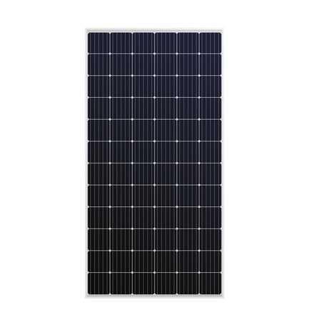 Panel solar monocristalino Sharp de 360W, 72 celdas. Eficiencia del 18.5%.