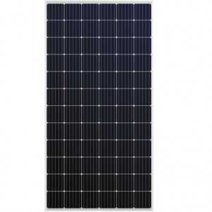 Panel solar monocristalino Sharp de 360W, 72 celdas. Eficiencia del 18.5%