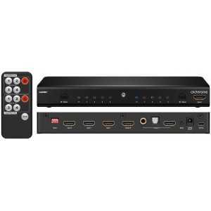 Matriz HDMI 4 entradas 2 salidas
