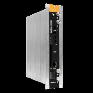 Trans modulador DVB-S/S2 (QPSK) a DVB-T/C (COFDM). + CI. Nivel de salida ajustable 80dBnV