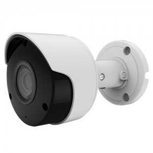 Cámara bullet 4 en 1, 5Mpx, 2.8mm, IR 30mts. IP66, blanca