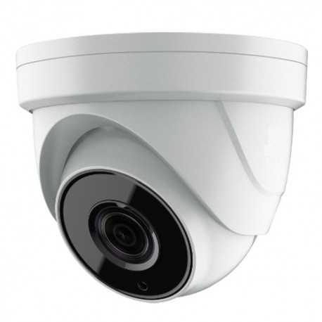 Cámara domo 4 en 1, 5Mpx Ultra Low Light, 2.7-13.5mm, IR 60mts. IP67, blanca.