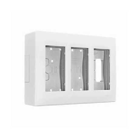 Caja superficie x3 MOD. Blanca 500 CIMA