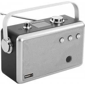 Radio portátil DAB+/FM, Potencia 10W, Bluetooth, entrada USB, entrada audio Jack, salida Auriculares