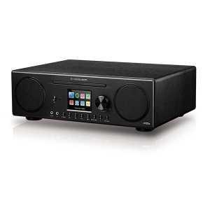Radio CD digital Estéreo Spotify DAB+/FM, Potencia 60W, Bluetooth, Wifi, USB, entrada AUX, salida Auriculares.