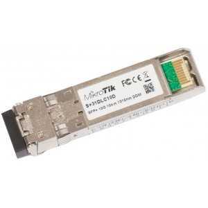Módulo SFP 10Gb, Monomodo con 1310nm, hasta 10kms Dual LC connector. Mikrotik