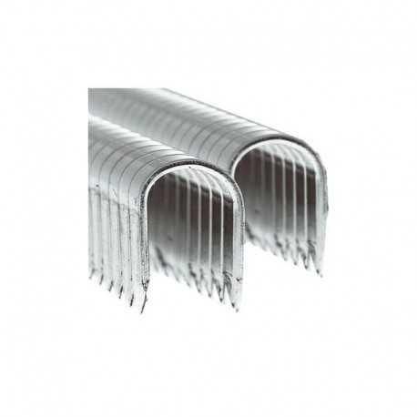 GRAPA 36/14. Para cable coaxial TV. Color aluminio. Clavex