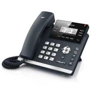 """""""Teléfono IP de 3 cuenta SIP, con 2 puertos Gigabite, pantalla LCD color 2.7"""""""", manos libres y POE incluido"""""""