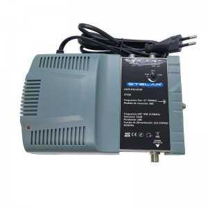 Amplificador FI + Mezcla de TDT, 35dB, nivel de salida 108dBuV. Conector F