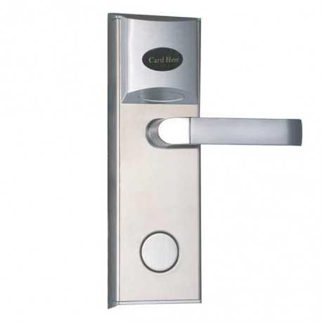 Cerradura para control de acceso (Hotel) con Lector RFID. Apertura izquierda