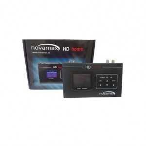Modulador UHF/VHF 85dB, E. S RF COFDM DVB-T con Calidad MER: &gt31dB. 1080p, con entrada y salida RF. Pantalla LCD y USB