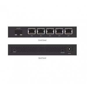 Switch gestionable de 5 puertos Gb, POE 50W, x1 SFP