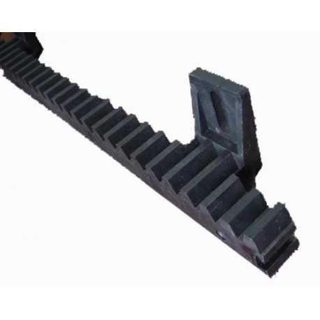 Cremallera Nylon 6 módulos 20x27x1018