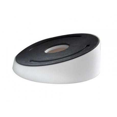 Caja de conexiones para cámaras domo - Apto uso exterior - Blanco - Inclinado - 39.2 (Al) x 111 (Ø) mm