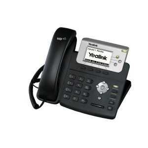 Teléfono IP TI TITAN chipset y TI voiceI. Pantalla LCD de 132x64