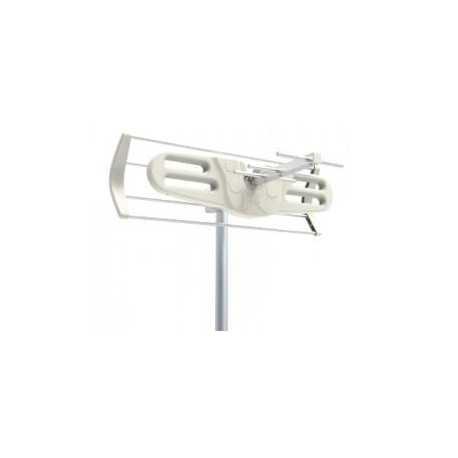 Antena UHF pasiva. 9dB. C60. D/A 16dB. 7 Elementos. Tamaño mini 430mm