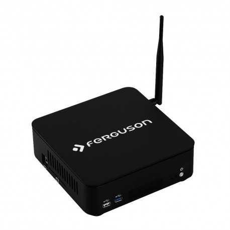 Receptor SAT (S2) + TDT (T2), Media player Android 7.0/Linux Debian, 4K UHD, H.265, Wifi integrado