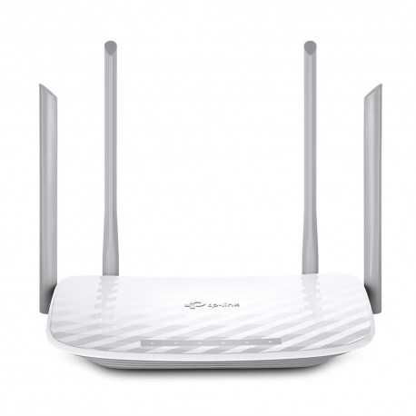 Router AC 1200 Mbps, 2,4/5Ghz, x5 puertos Gb, x2 USB 2.0 y x2 antenas