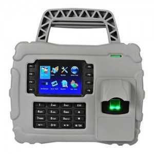 Control de Presencia Portátil Huellas, Tarjeta EM RFID y teclado TCP/IP y USB   Apto para exterior IP65
