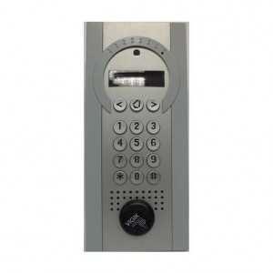 Sistema de videoportero 3G hasta 100 vecinos con control de acceso por llavero de proximidad