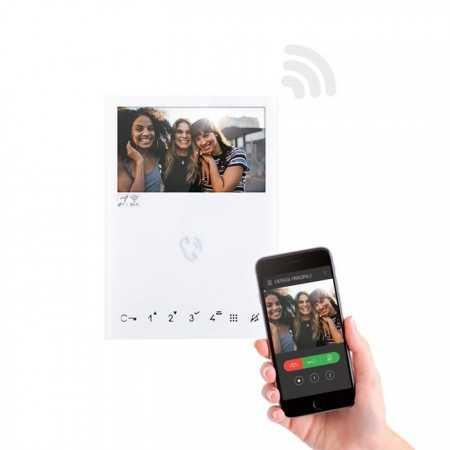 """Monitor Mini Hands Free en color, Wifi. Tecnología Simplebus 2 y pantalla LCD 4,3"""""""