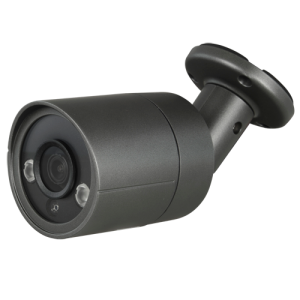 Cámara bullet 4 en 1, 4Mpx, 3,6mm, IR 30mts. IP66, negra