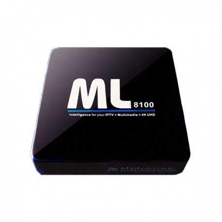 Receptor IPTV Linux, 4K UHD 60fps, Android, Stalker, Wifi opcional, x3 USB, Ethernet, Procesador Dual Core 750Mhz, Memoria RAM