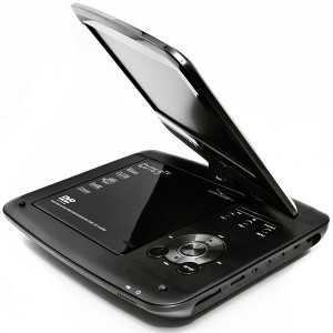 "Televisor 9"" (T2) + DVD player USB. Pantalla rotativa"